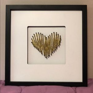 Other - Hobby lobby home accent. Gold threaded heart.